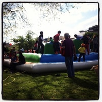 May Day party targeting the innocent little ones ;)