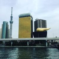 Asahi beer tower & headquarter ;)