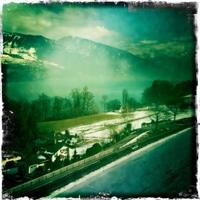 on the way to Interlaken