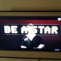"""Be a star"" on tv."