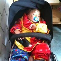 sleeping clown