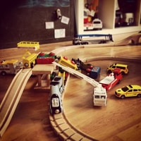 Huge Brio accident ;)