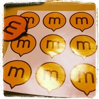Midgard Stickers.  thanks for the present and was nice having you here @bergie and all the other fins and guests :)
