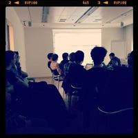 @lsmith talking about Symfony 2 at today's @webtuesday