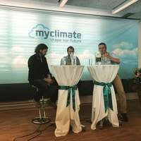 @myclimate cloud lunch about sustainable food. Interesting topic.