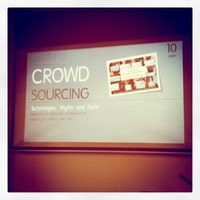 crowdsourcing talk at @webtuesday