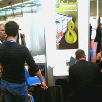 busy booth