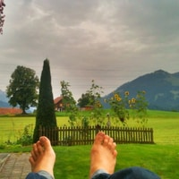 lying in the countryside