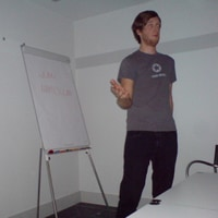 Jan talking at webtuesday