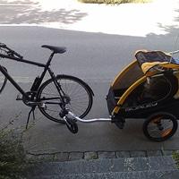 new bike. New trailer