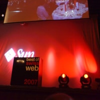 At best of swiss web awards