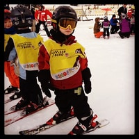 ready to learn skiing