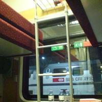 Old school night train