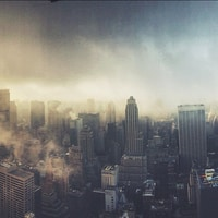 Manhattan from top (instagramified by @sicher ;) )