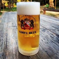Corfu beer.