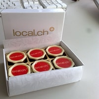 mjam and thank you local.ch