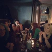 half of the @liip Team Lego xmas Dinner