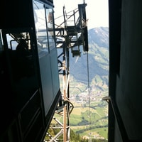 on the way to the rigi