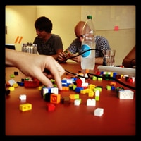 (part of) the newly formed team Lego