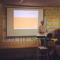 """Johann from Mayflower Talking about """"lean startup"""""""