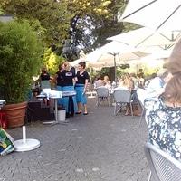 enjoying the summer in berne city
