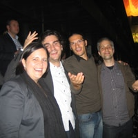 The Liip Partners at the Coldplay Concert yesterday