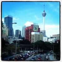 We made it to Kuala Lumpur