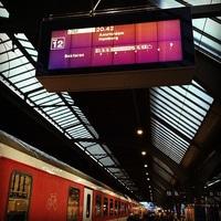 next stop: Hamburg Hbf