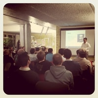 webtuesday at @liip with @bratwurstkomet