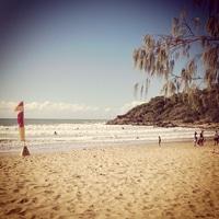 a Sunday at the beach.