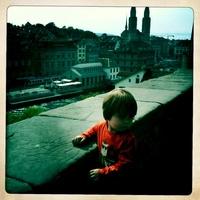 touristy view