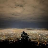 Zurich by night.